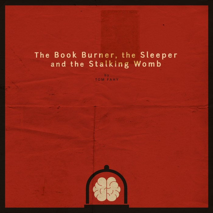 The Book Burner, the Sleeper and the Stalking Womb, by Tom Fahy (2014)