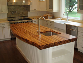 Wooden Countertops in the Utica NY Area