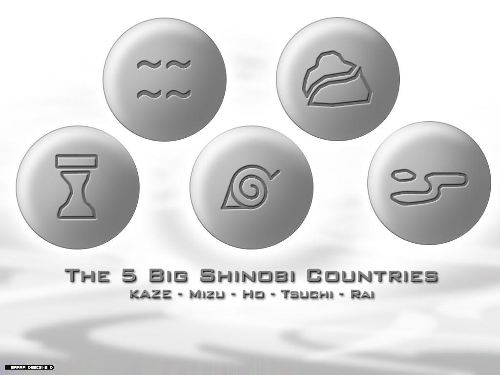 5 desa ninja besar