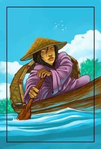 Lost Temple - Canoe