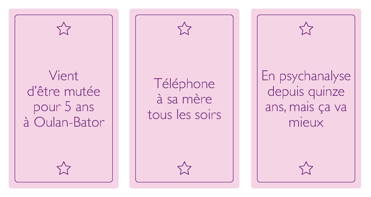 jeu de société speed dating