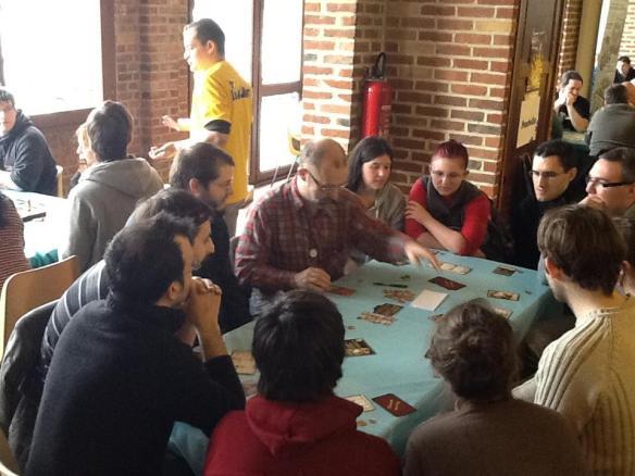 Mascarade à 12 joueurs Mascarade with 12 players