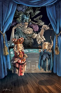 The Puppet-Master chooses two players and takes 1 gold from each. The two chosen players must get up and switch places, while their Character card and their fortune stay in place.