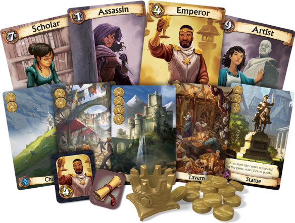 citadels sample no box