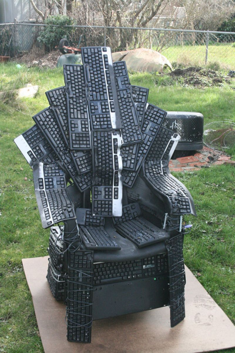 Keyboard Chair Game Of Thrones Nerd Style Faildesk