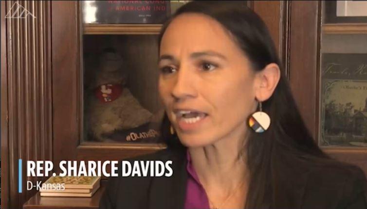 Sharice Davids (D-KS) 3rd District breaks Medicare for All promise.