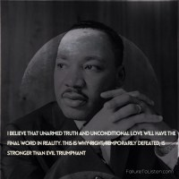 Martin  Luther King Jr - Wisdom Of Evil