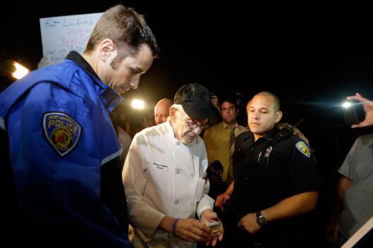 90 year old arrested for feeding homeless