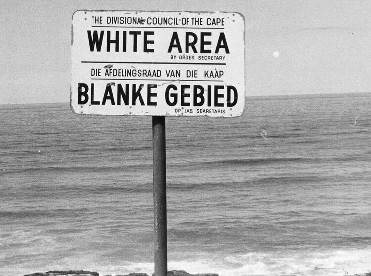 South Africa Apartheid Source of image: Pinterest