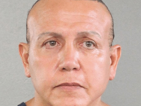 A 2015 mug shot of mail bomb suspect Cesar Sayoc. Source: HuffPost