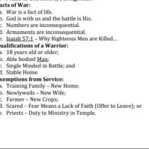 Spokane, Washington, Republican State representative, Matt Shea's manifesto advocating a Biblical War against non-Christians. 2 of 7