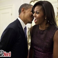 President and First Lady Busted on the Oval Office Desk...