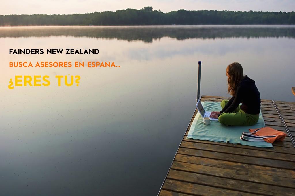 Buscamos Asesores en España para Fainders New Zealand