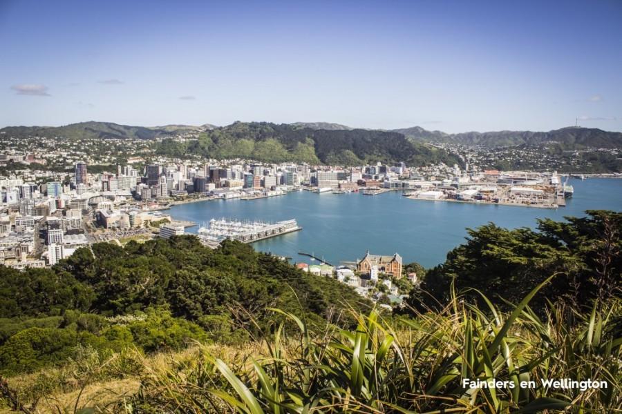 Wellington, la pequeña y animada capital de Nueva Zelanda