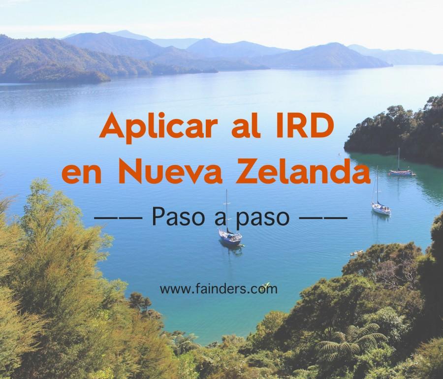 Cómo aplicar al IRD en Nueva Zelanda