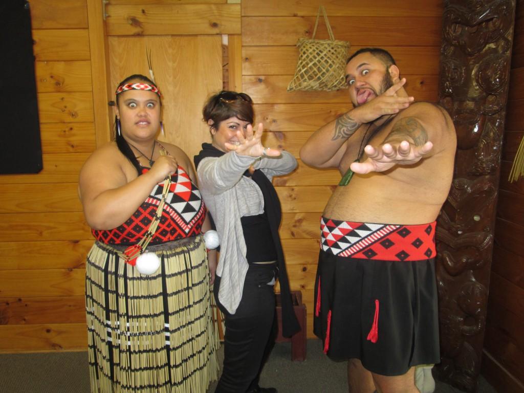Rocío y los maorís