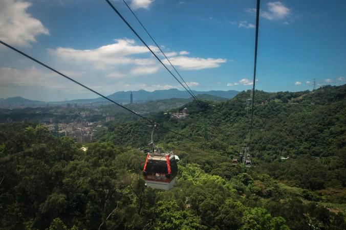 The Maokong gondola.