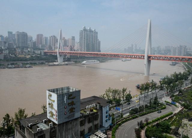 Chongqing river.