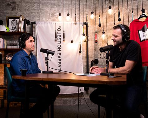 """Podcast 009: George Buhnici, după burn-out: """"Vreau să trăiesc peste 100 de ani!"""""""