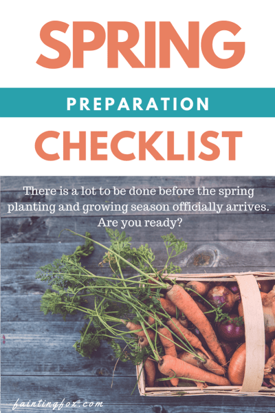 Spring Preparation Checklist