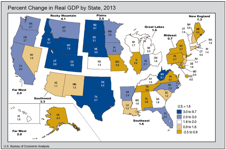 (source: http://bea.gov/newsreleases/regional/gdp_state/gsp_glance.htm)