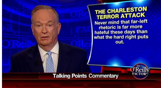 Bill O'Reilly: The Charleston Terror Attack