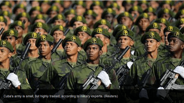 Cuban imilitary (photo: Reuters)