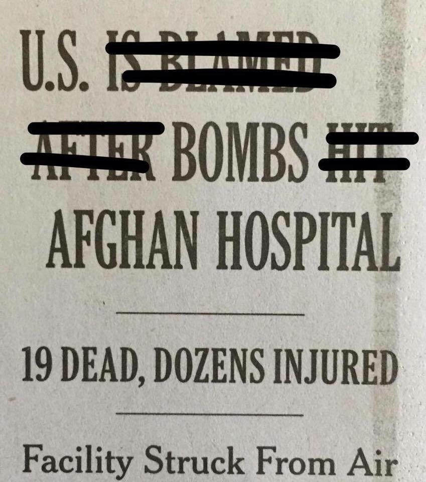 New York Times headline corrected