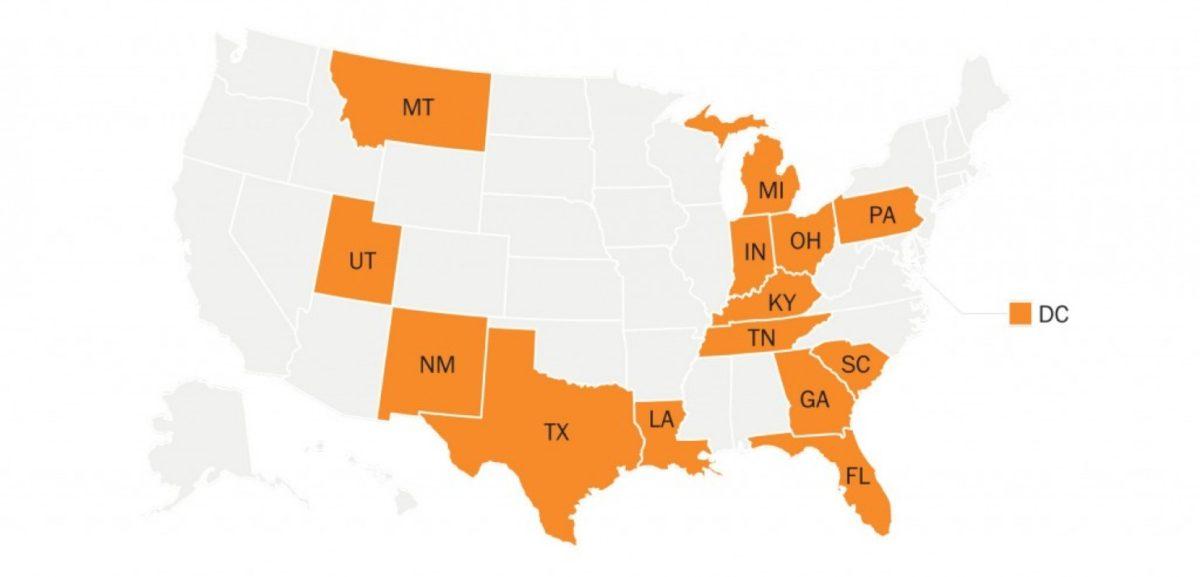 Washington Post: States with an October 11 voter registration deadline