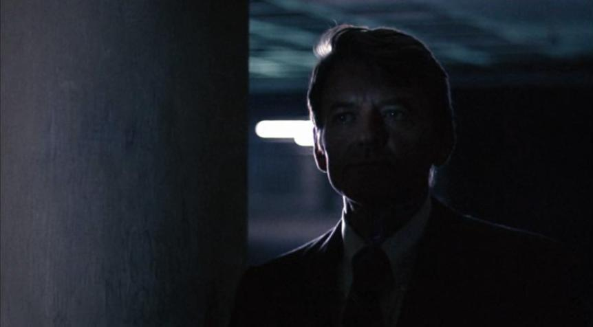 Deep Throat (Hal Holbrook) in All the President's Men