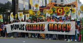 People's Climate March, New York City, 2014 (cc photo: South Bend Voice)