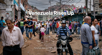 Bloomberg: Venezuela Rises Up
