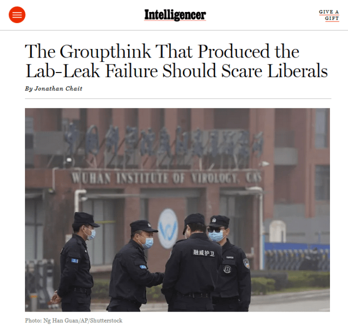 The Groupthink That Produced the Lab-Leak Failure Should Scare Liberals