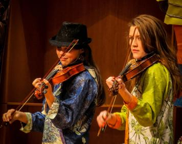 Gazebo Nights performers Soren Rain & Blue River