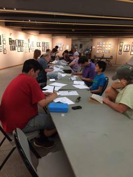 All ages cartooning workshop with Jamie Smith