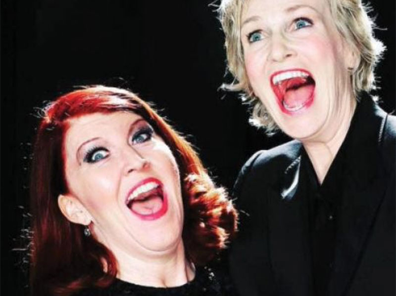 Jane Lynch and Kate Flannery: Two Lost Souls – 9.26.21