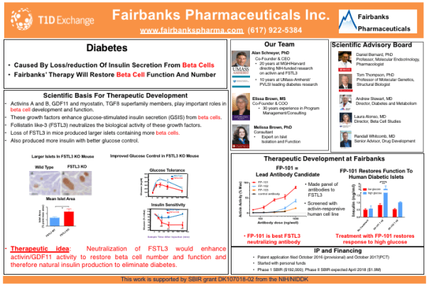 Fairbanks Pharmaceuticals developing new type of diabetes therapy