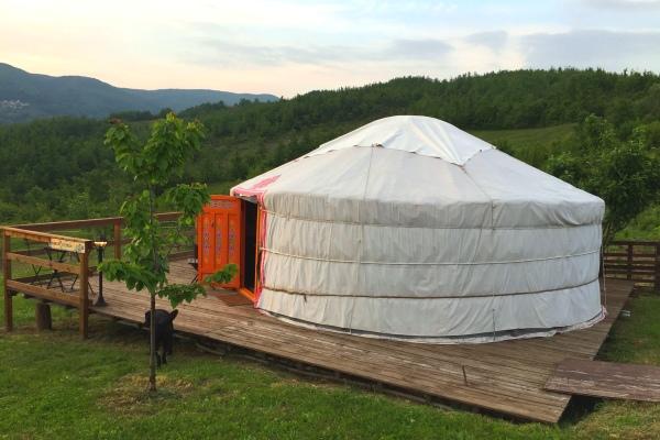 Dormire in una yurta ti racconto come  andata