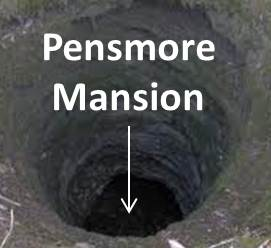pensmore mansion swallowed by