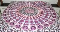 White Pink bedding sets  Pink and Purple Mandala bedding ...