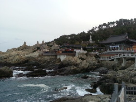 Haedong Yonggungsa Temple at Busan, South Korea