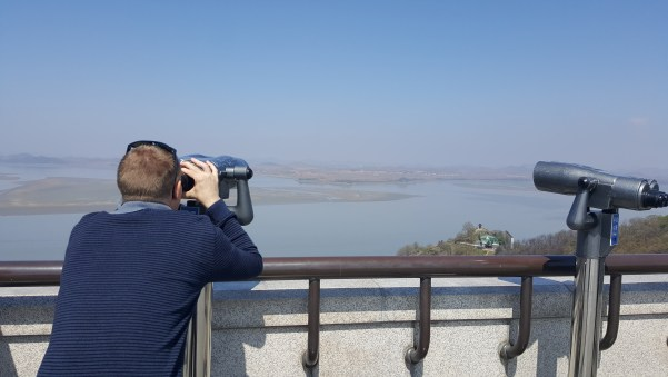 Looking into North Korea.