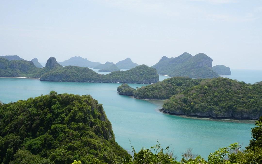 The Amazing Angthong Marine National Park