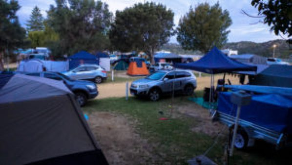 Camping is popular at Moore River.