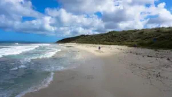 The beaches of Guilderton.