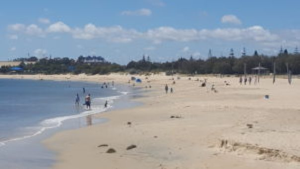 Koombana Bay is a hit in summer with its calm waters.