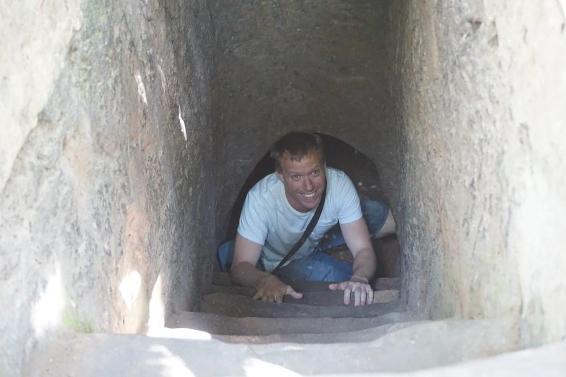 Cu-Chi Tunnels.