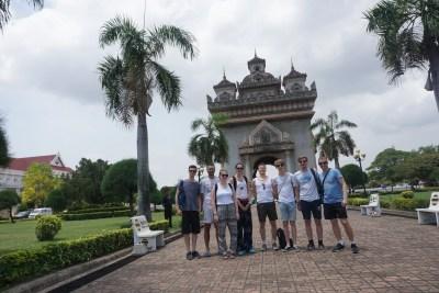 Patuxai Monument, Laos