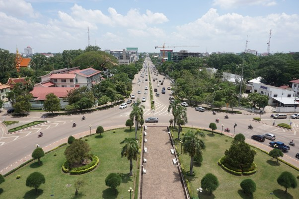 Overview of Vientiane