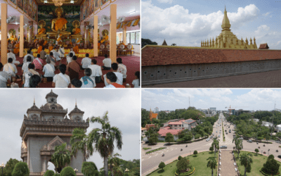 A Photo Gallery of Vientiane City in Laos